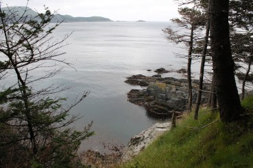 The view from Gunners Point.