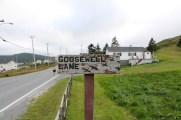 Goosewell Lane is the route to the railbed.