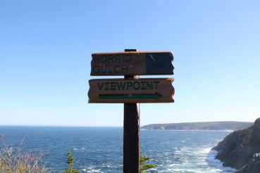 The viewpoint at Horrid Gulch, where a spectacular rescue was conducted.