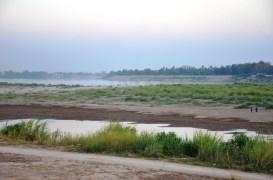 Abendlicht am Mekong