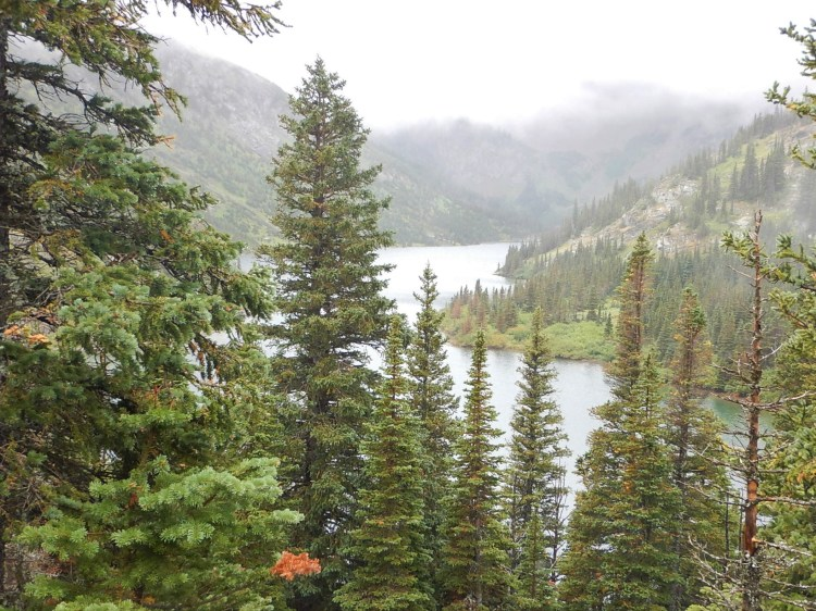 Bertha Lake different angle