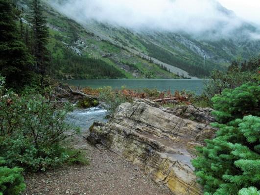 Bertha Lake lake level