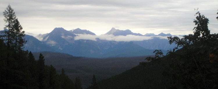 mountain view from huckleberry