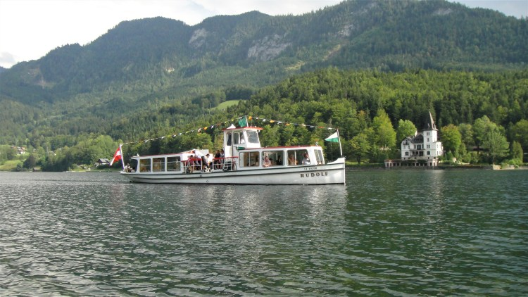 boat trip grundlsee