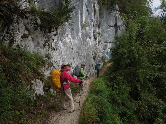 cliff walking