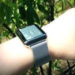 Apple Watch Sport スペースグレイ (42mm)のスポーツバンドを変えてみました