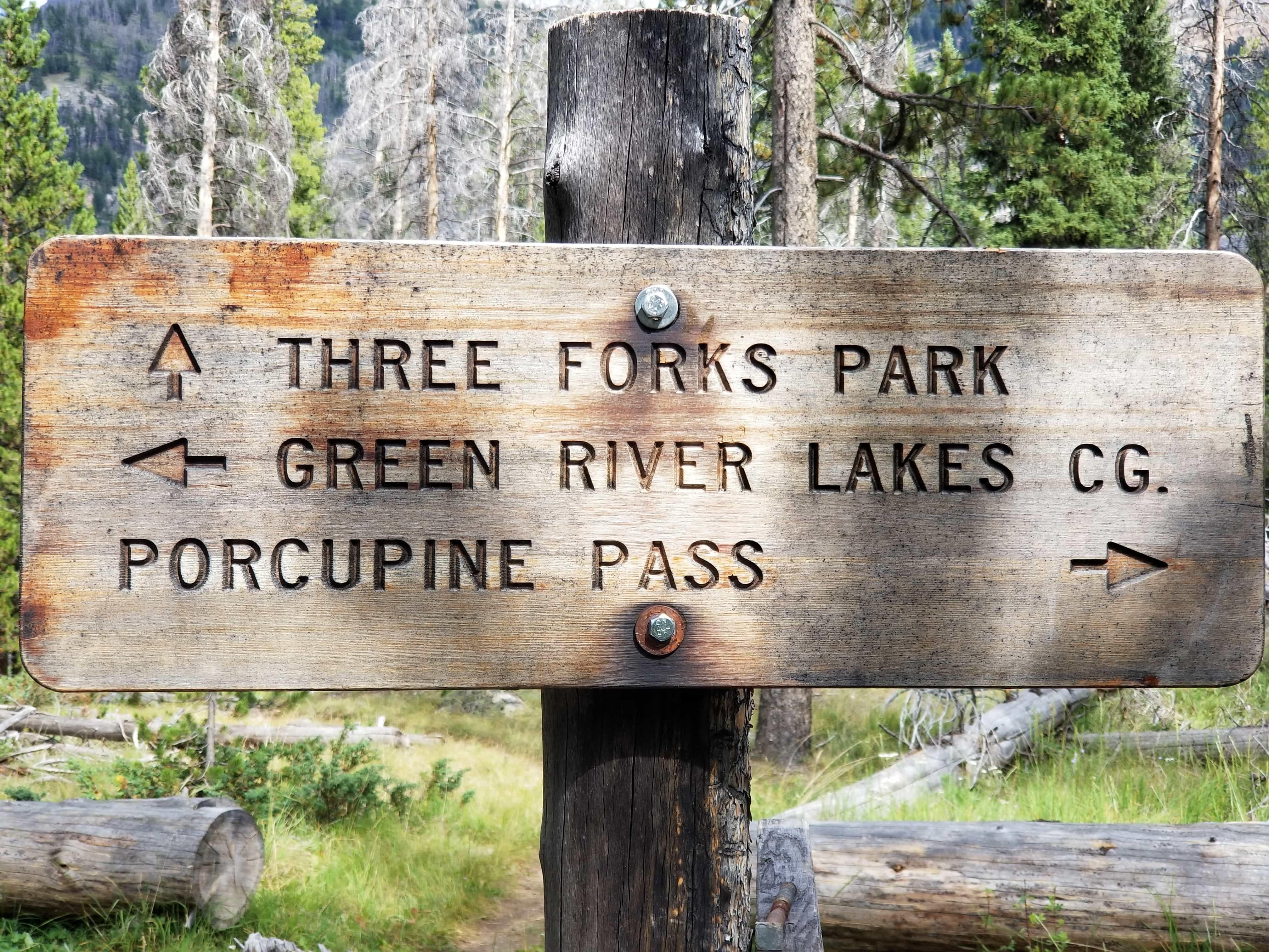 Twin Lakes Trail, Wyoming, Wind River Range