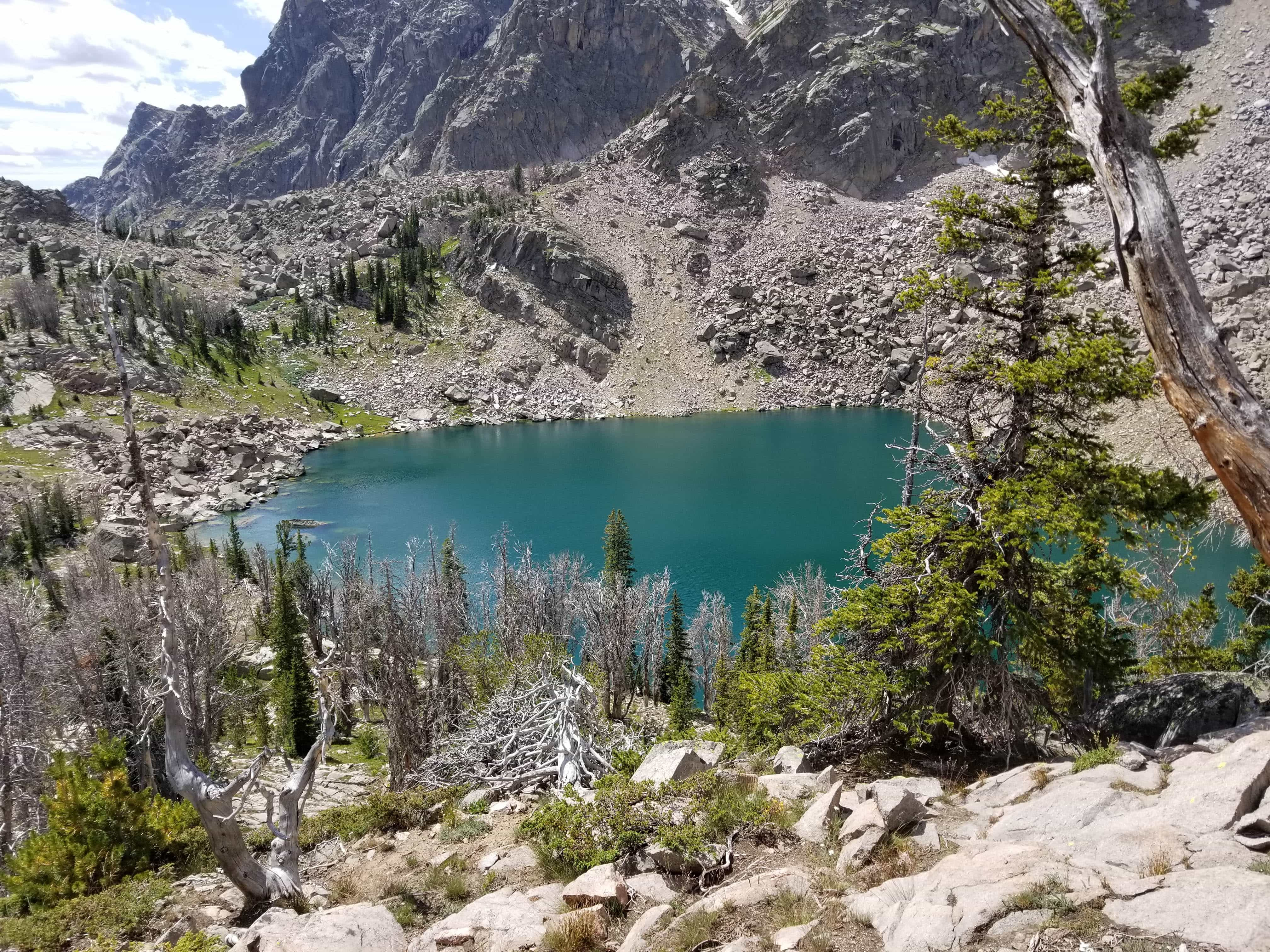 Lake Gadsby, Wyoming, Wind River Range