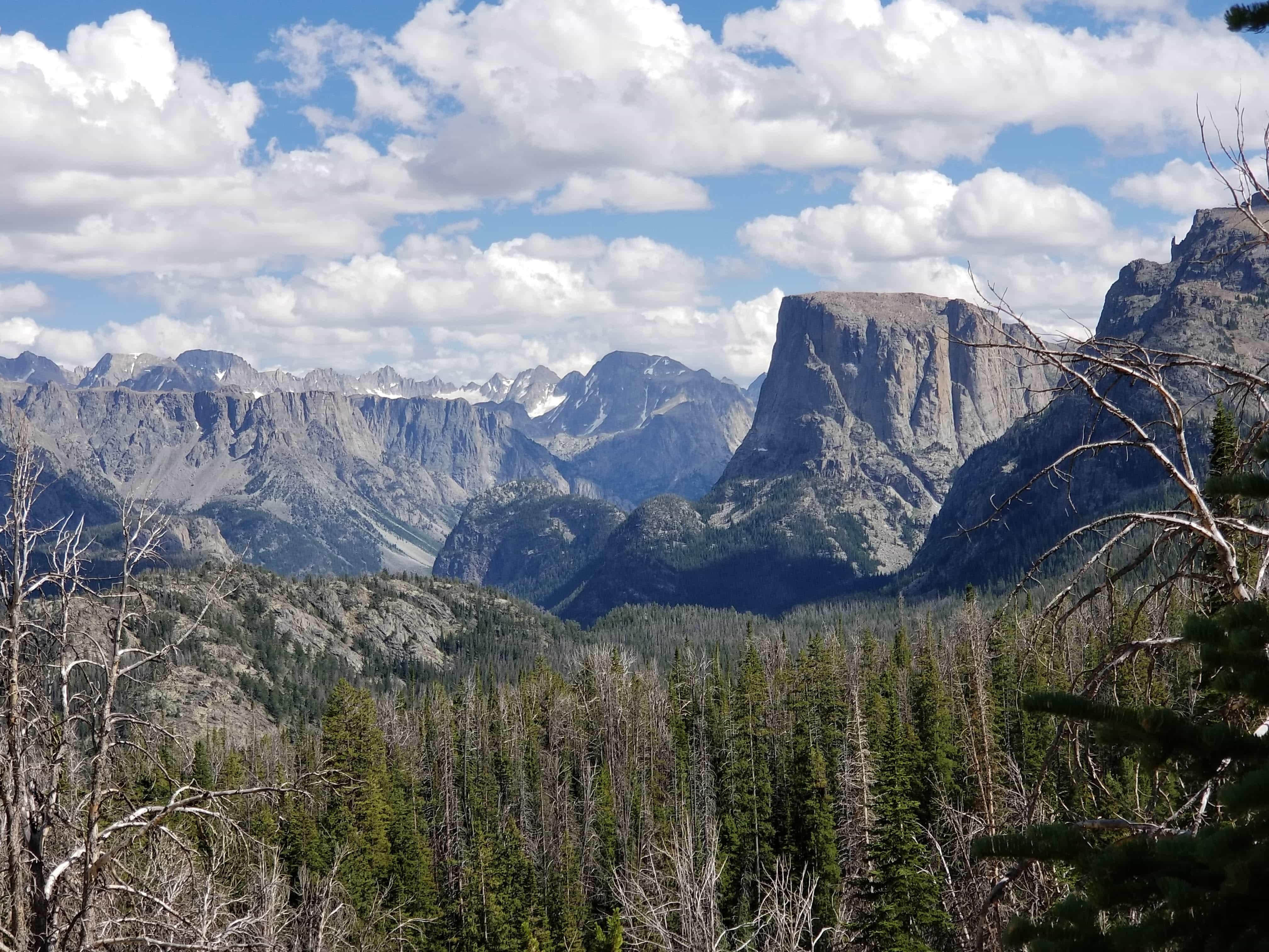 Twin Lakes trail, Wind River Range, Wyoming