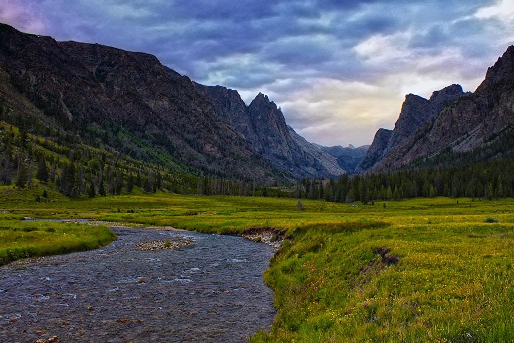 Clear Creek and Osborn Mountain