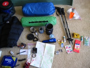 Packing for Backpacking Trip