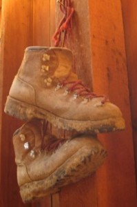 Old Hiking Boots