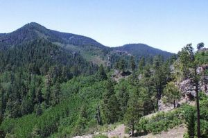 Black Range Crest Trail, photo courtesy NPS