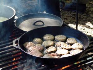 Campsite cooking