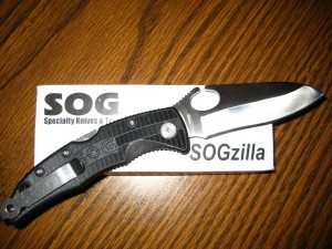 SOGzilla - one tough knife!