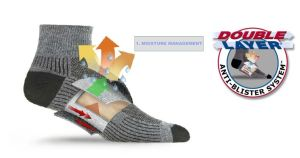WrightSock built in layering system