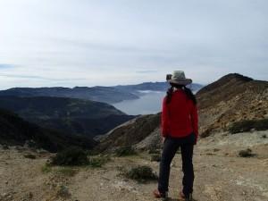 Hiking Lady