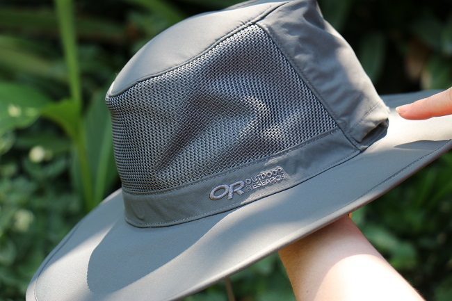 Hiking Lady's Outdoor Research Ghost Hat