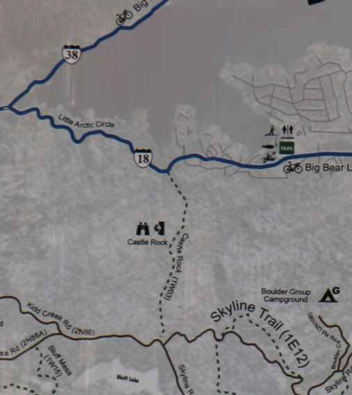 easy hikes near Big Bear Lake