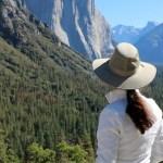 Hiking Lady wearing Adventure Apparel!