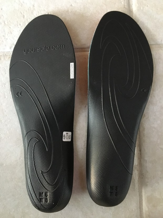 Bottom of SOLE Active Insoles
