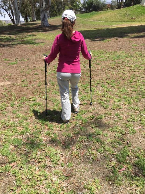 Using the Montem Ultra Strong Trekking Poles