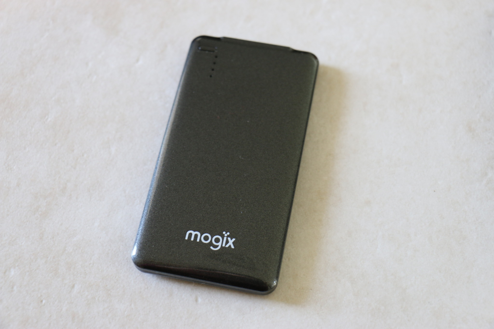 Mogix Portable Charger - front view