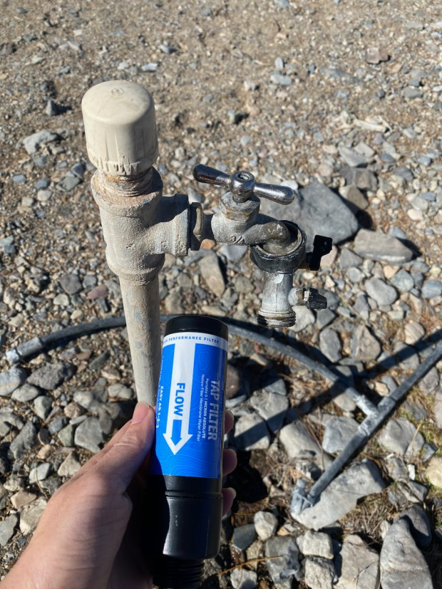 One spot where a Sawyer Tap Filter is a must!