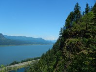 Looking up the mighty Columbia