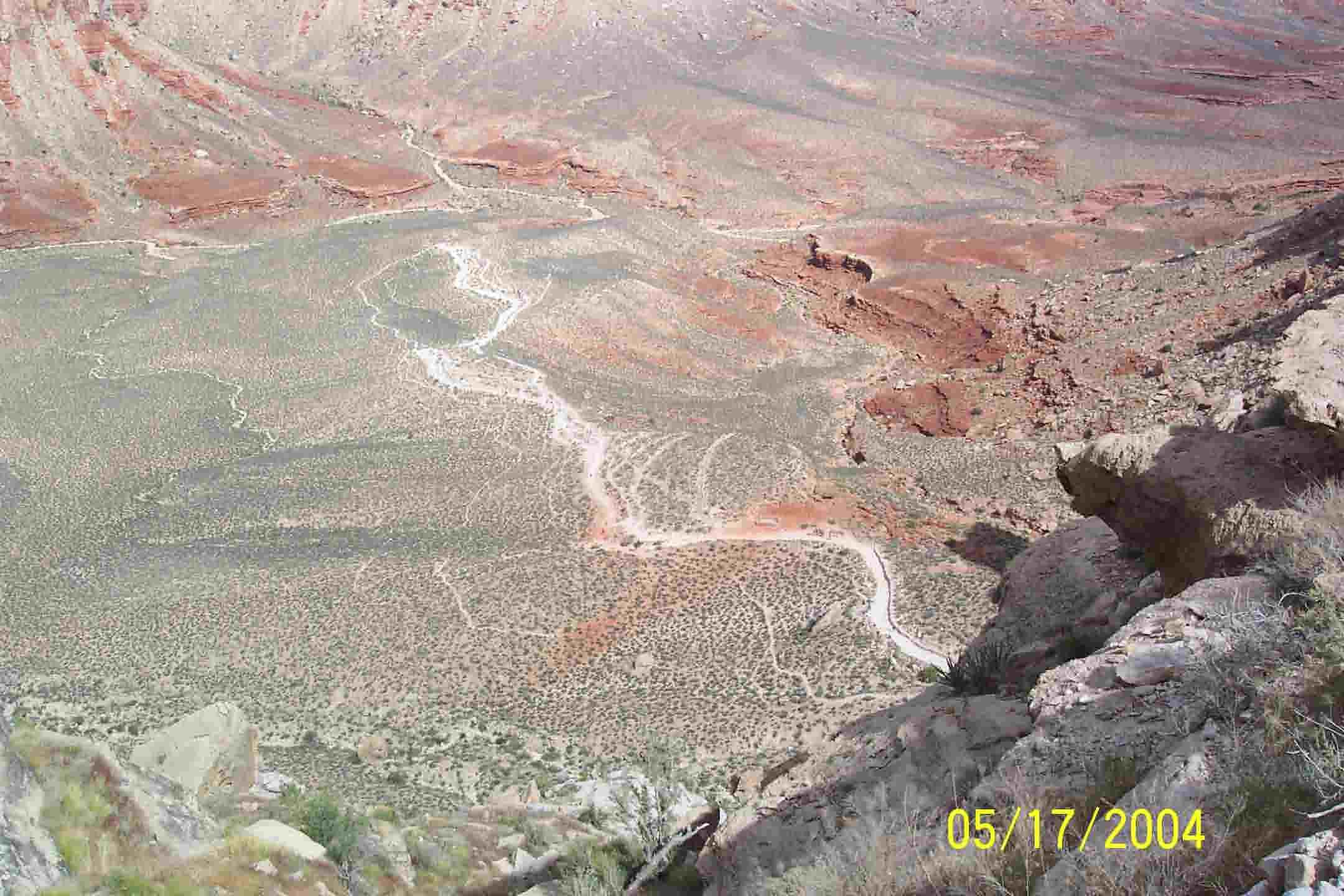 picnic table Havasupai Arizona map travel