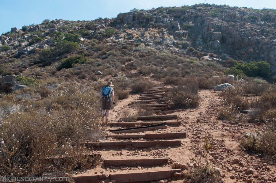 South Fortuna Stairs at Mission Trails