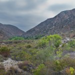 Panorama of Mission Trails Regional Park from the Visitor Center Loop trail