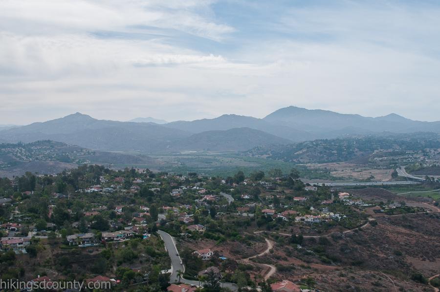 View along the Bernardo Mountain Trail