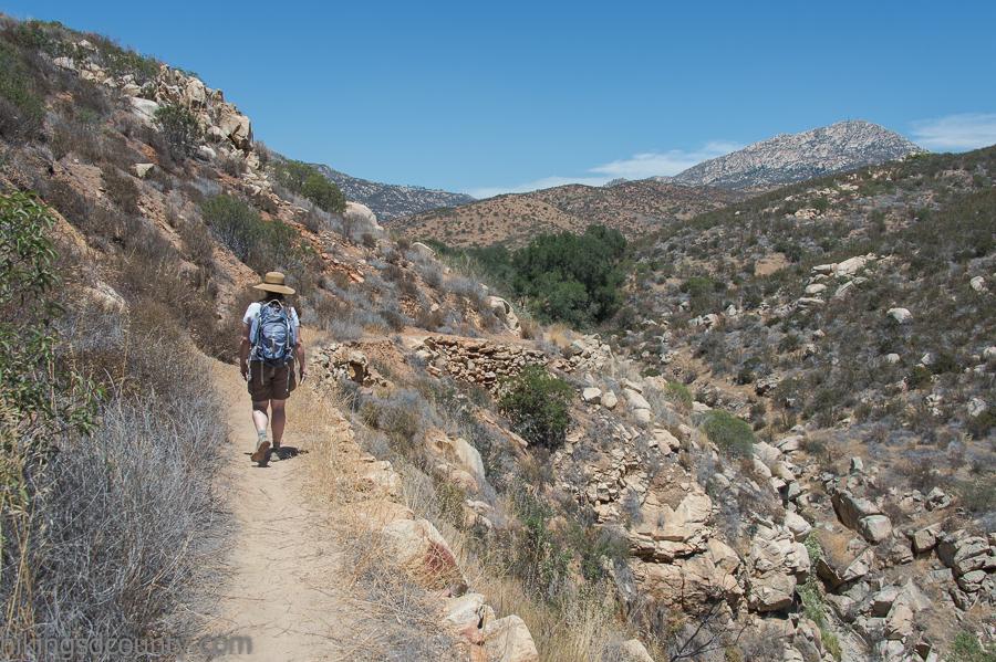 Hollenbeck Canyon trail