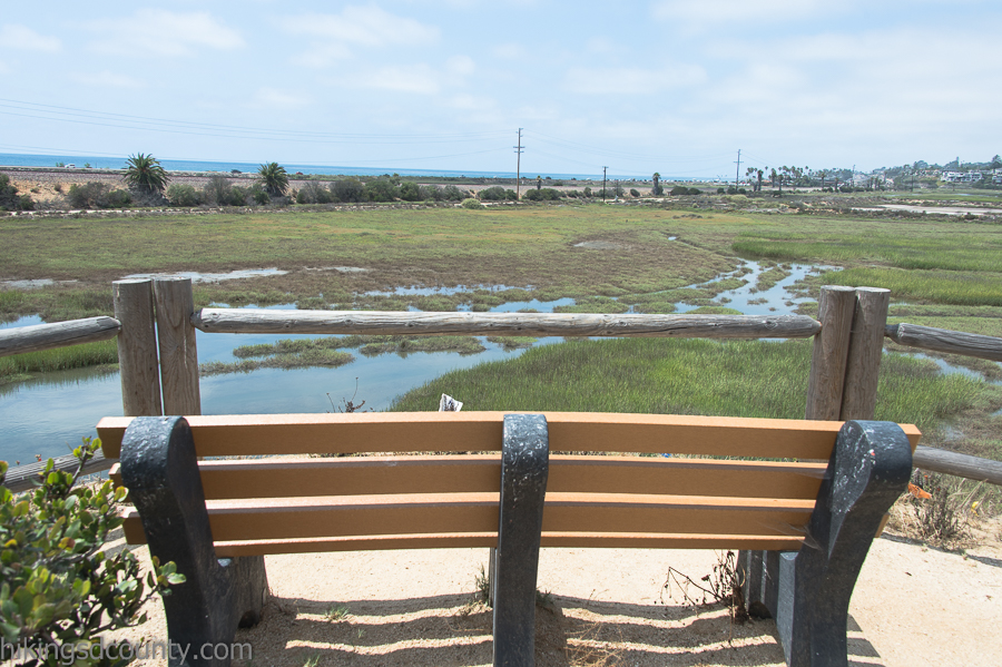 One of many scenic view points at San Elijo Lagoon