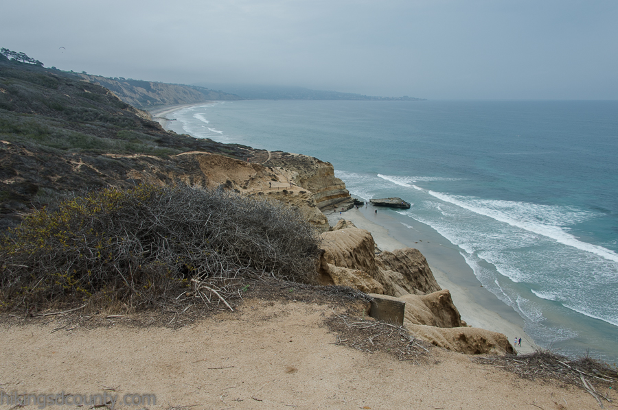 The view from Yucca Point at Torrey Pines