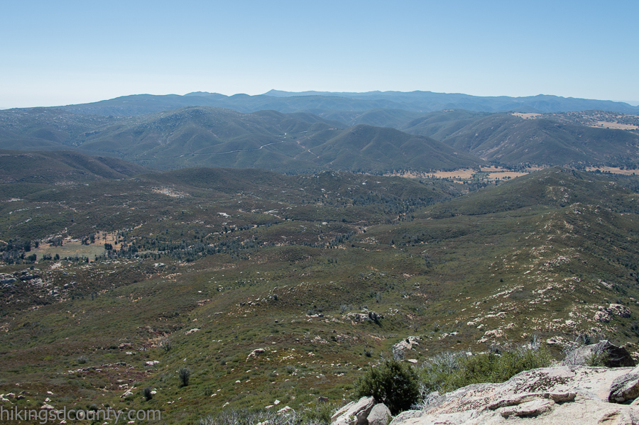View to the East from Stonewall Peak