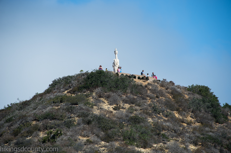 Visitors near the Cabrillo National Monument