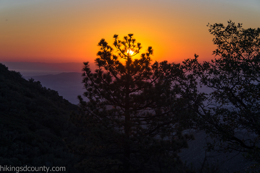 Sunrise from Desert View Picnic Area
