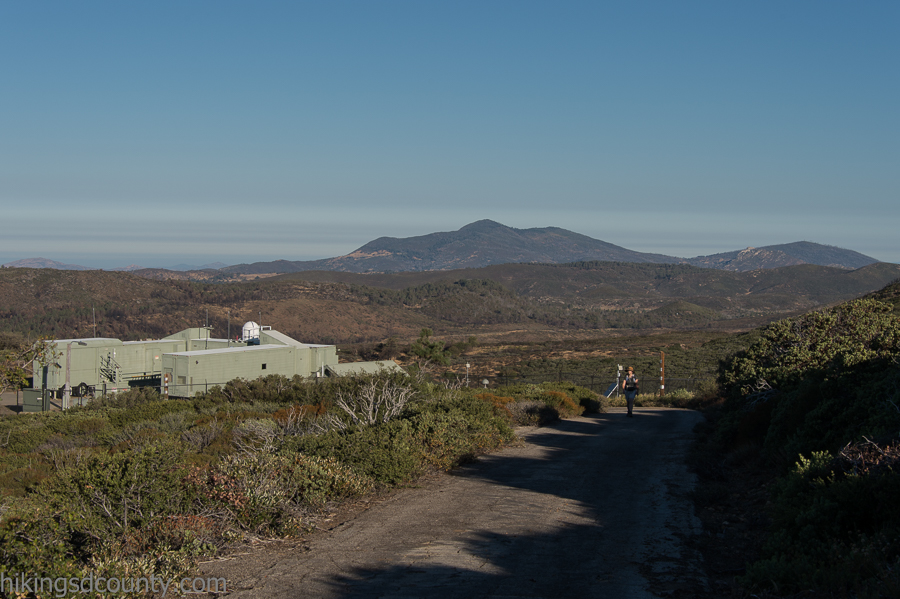 The amazing NASA laser research facility on Monument Peak