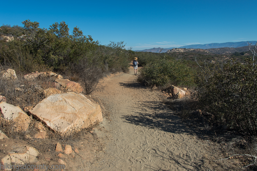The Wildflower Loop at Ramona Grasslands