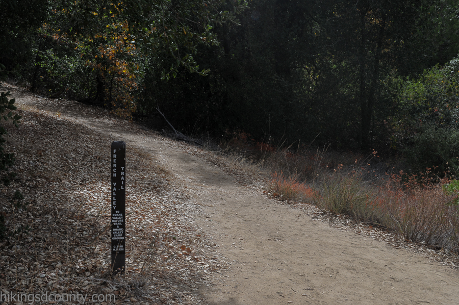 Merging of the French Valley and Lower Doane Valley Trails