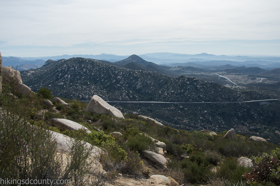 Iron Mountain as seen from Mt Woodson