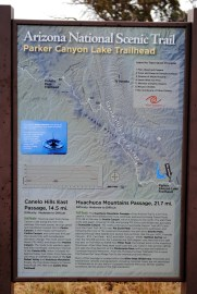 Started taking pictures of these signs at the trailheads so I could reference them on my camera since my phone had died.