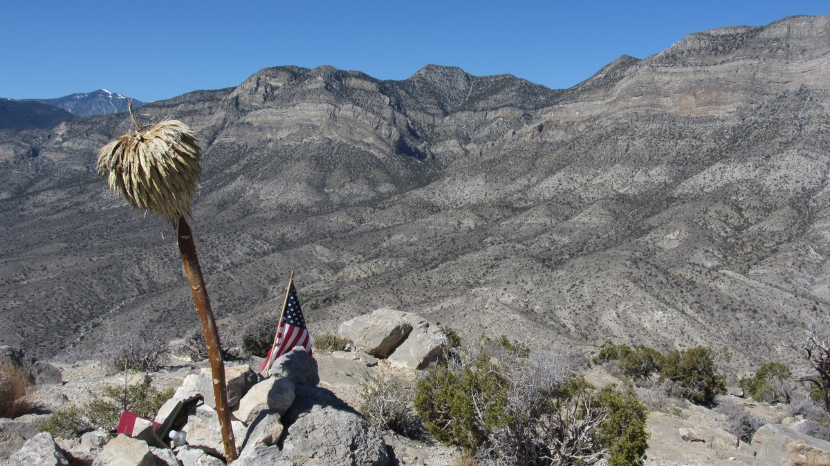 View from Turtlehead Peak in Red Rock Canyon