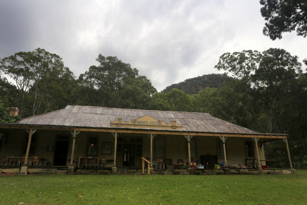 The old Newnes Hotel