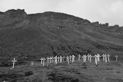 Old cemetery in Longyearben