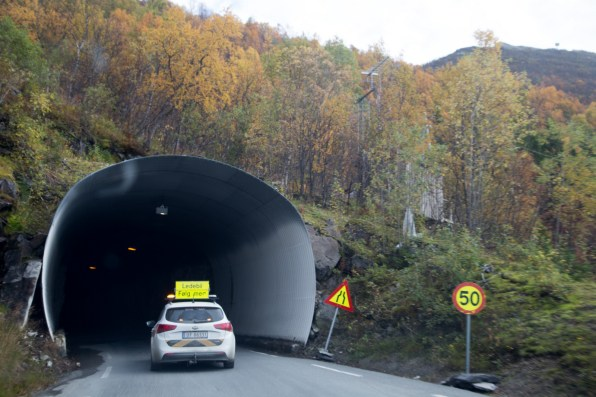 Unrated tunnel at Steinfjord