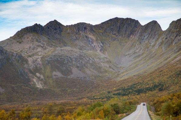 Mountains surrounding the Rorvik valley