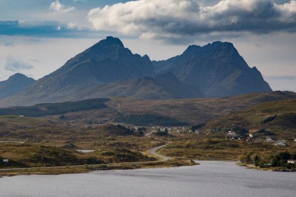 View from Torvdalshalsen rest area